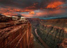 Lightning Storm Over Grand Canyon National Park Arizona | Beautiful Canyon14