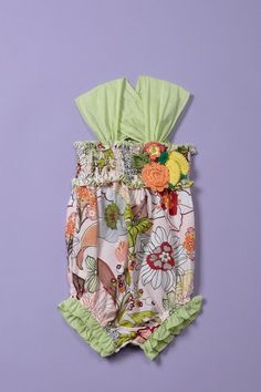 adorable baby nay romper!