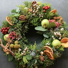 [Christmas Wreaths] Buy Your Christmas Wreaths Online Fast And Easy ** Continue with the details at the image link. Christmas Door Wreaths, Christmas Flowers, Autumn Wreaths, Noel Christmas, Holiday Wreaths, Natural Christmas, Christmas Arrangements, Flower Arrangements, Fresh Wreath
