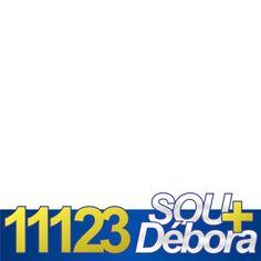 Sou + Débora - Campanha de Apoio | Twibbon