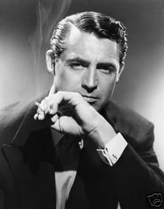 Cary Grant. What is it about old movie stars holding a cigarrette that makes them so unbelievably attractive?