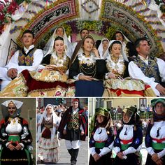 Traditional Sardinian costumes