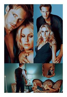 True Blood - Forever hoping that Eric and Sookie find their way back to each other on the show and in the books Hemlock Grove, Sookie True Blood, Vampire Diaries, Alexander Skarsgard True Blood, Hbo Tv Shows, Eric And Sookie, Blood Photos, True Blood Series, Eric Northman