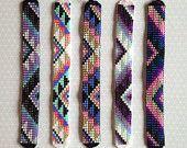 Bead Loom Friendship Bracelet Cuff
