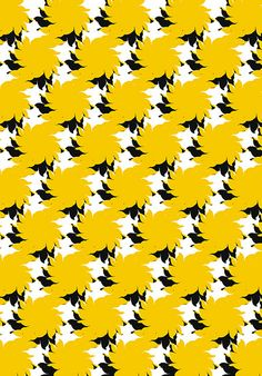 Abstract Pattern - Yellow & BW   Flickr – 相片分享!