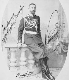 Grand Duke Konstantin Konstantinovich Romanov of Russia in 1904.A♥W