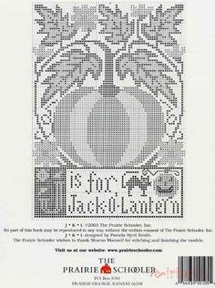 THE PRAIRIE SCHOOLER ALPHABET LETTERS J & K & L 2/5