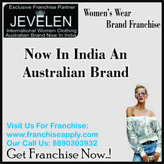 Start Your Own Women's Wear Brand Outlet #retail_Franchise #franchise_apply