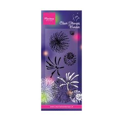 Marianne Design Clear Stamps - Tiny's Fireworks TC0845
