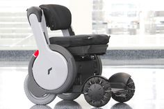 Whill omnidirectional four-wheel-drive mobility device #wheelchair