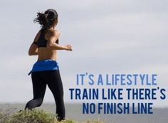 Being healthy is a lifestyle, not a diet, not a short term workout plan.