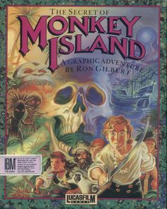 """The secret of Monkey Island"" (1990), di Ron Gilbert"