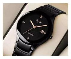 Race pure Black watch with 1 year machine warranty for sale Karachi - Local Ads - Free Classifieds and Job Ads in Pakistan Trendy Watches, Cool Watches, Watches For Men, Wrist Watches, Women's Watches, Job Ads, Rado, Rose Gold Watches, Black Stainless Steel