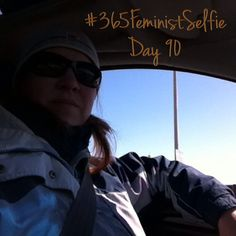 It's a windows down kind of day - finally!! #bringonspring #365FeministSelfie day 90