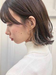 Japanese Hair Color, Hair Inspo, Hair Inspiration, Under Hair Color, Hair Streaks, Japanese Hairstyle, Dream Hair, Short Cuts, About Hair