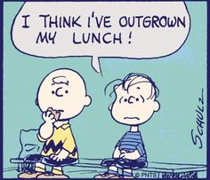 #CharlieBrown #Peanuts #Lunch