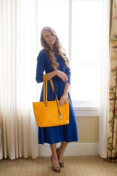 The Maddie Dress (Royal Blue)