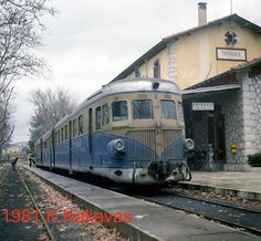 Railway station of Tripolis town, Arcadia region, Peloponnese, Greece Old Trains, Going Away, Old Photos, Transportation, To Go, Castle, Train Stations, History, Planes