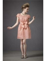 Organza Cap Sleeves Knee-Length Special Occasions Dress