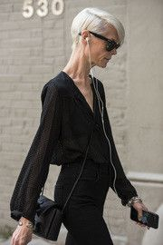 Kate Lanphear at NYFW S/S17:STREETSTYLE PART 5