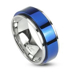 STR-0104 Stainless Steel Two Tone Blue IP Spinning Ring (5) Jinique http://www.amazon.com/dp/B009SE1EJU/ref=cm_sw_r_pi_dp_PXzBwb1CM52Q7