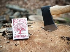 "Bicycle ""The Lumberjacks"" Playing Cards by Vadim Smolenskiy"