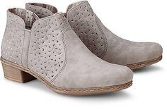 Diese Stiefelette ist der perfekte Schuh, der die etwas kühleren Tage in der Saison zum Highlight werden lässt. Durch sein trendiges Design passt er super zu den aktuellen Hosen.