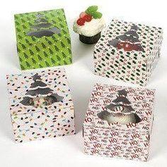 Holiday Cupcake Boxes