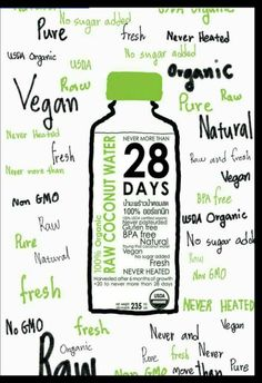 28DAYS RAW COCONUT WATER