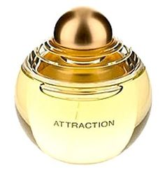Lancôme Attraction - Top notes: gardenia, neroli, and ylang-ylang. Heart notes: iris, orange blossom, jasmine, tuberouse and bulgarin rose. Base: cedar, patchouli, vanilla, musk and amber.