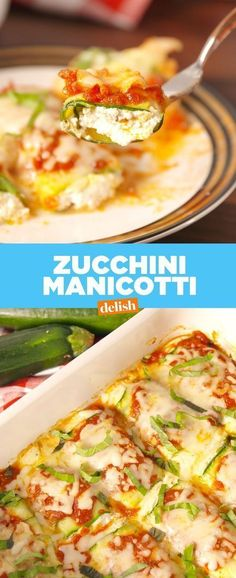Manicotti Zucchini Manicotti is the low-carb dinner you'll actually want to eat. Get the recipe at Zucchini Manicotti is the low-carb dinner you'll actually want to eat. Low Carb Recipes, Diet Recipes, Vegetarian Recipes, Cooking Recipes, Healthy Recipes, Dessert Recipes, Recipies, Vegetarian Tapas, Low Carb Zucchini Recipes
