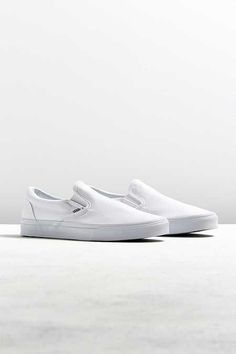 a62a1cf6db Vans · White Slip On ...