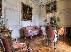 Versalles. Apartamentos de Madame de Pompadour