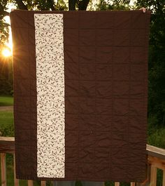Simple quilt back - Great if you don't want to use the super wide quilt backing fabric!