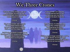 We Three Crones - pagan Yule carols