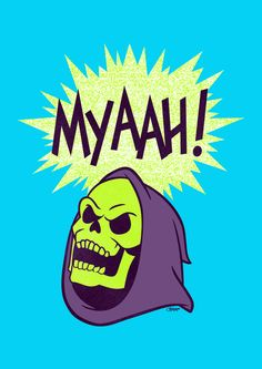 Myaah! Stretched Canvas by Damaged Goods | Society6