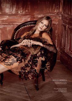 Editoral French Kiss - Elisabeth Erm for Harper's Bazaar Brasil February 2015