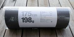 SIZE:175cm x 50cm x 1.3cmパッケージSIZE:52cm×直径約17cm重量:198g(実測と異なる事がございます。)素材:XLPEフォームMade in:U.K.*コー