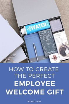 How To Create The Perfect Employee Welcome Gift | #pumeli #onboarding #hr #employeeengagement