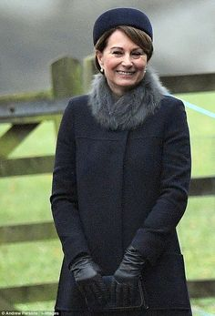 Carole Middleton enjoyed the company of her daughter, Kate, along with William, George and...