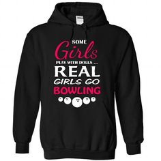 Real girls love bowling T Shirts, Hoodie. Shopping Online Now ==►…