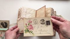 Vintage journal for a private swap