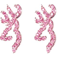 Amazon.com : Browning Buckmark Bling Earrings : Sports Fan Earrings :... ($21) ❤ liked on Polyvore featuring jewelry, earrings, sports jewelry, sport earrings, sport jewelry, brown jewelry and earring jewelry