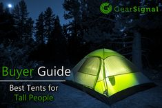 Our top 5 choices for tents built for people who are taller than Finding a tent as a tall person can be hard but we've got 5 good choices that will fit people of any height. Tall People, Cool Tents, Outdoor Gear, Backpacking, Good Things, Trail Riding, Travel Backpack, Backpack