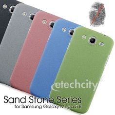 Sand Stone Series Anti-Fingerprint PC Case for Samsung Galaxy Mega 5.8 i9150 i9152 [PCAF-SMG9150] - $15.00