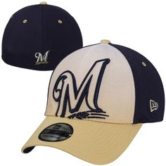 MLB New Era Milwaukee Brewers Gradation 39THIRTY Flex Ha Milwaukee Brewers 717419a9911a