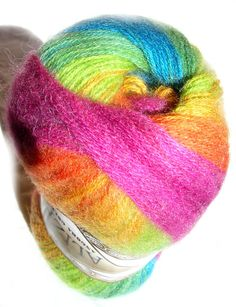 Alize Angora Gold Batik Selfstriping Fine Yarn by HandyFamily, €4.95