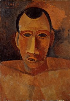 Pablo Picasso - Bust of a Man (1908)