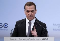 Russian Prime Minister Dmitry Medvedev said his country is in a new Cold War with the U.S. and its allies, underscoring the tenuous level of trust that's p