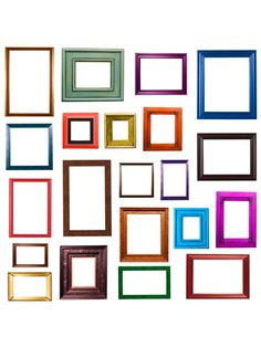Personalize your #party by decorating with framed photos of your guests- the sillier the better! #decor